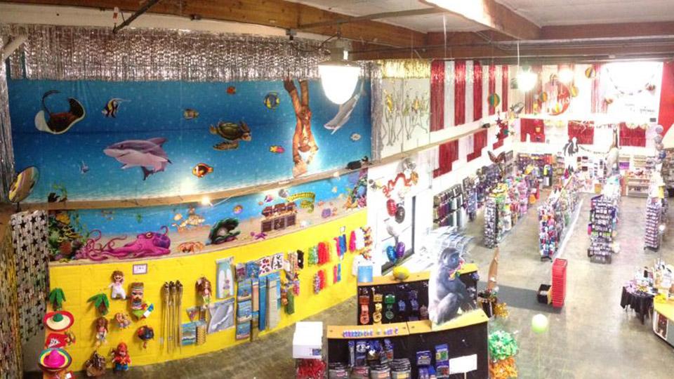 The Lippman Company Party Store interior