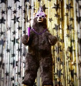 stuffed bear party prop