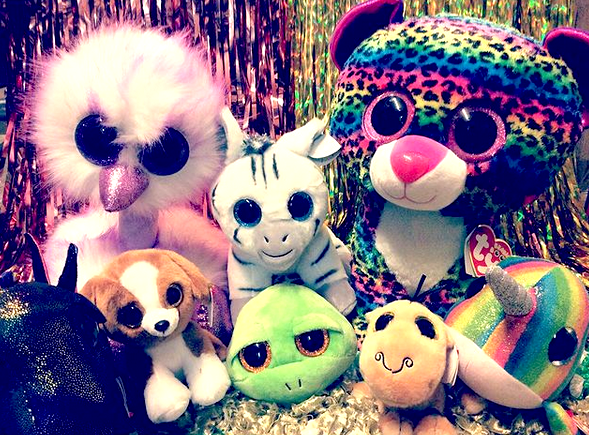 stuffed beanie cuties