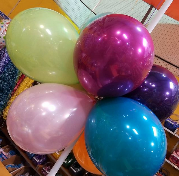 double-stuffed balloons for every party